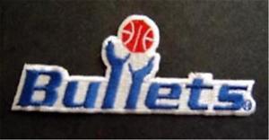 "Washington Bullets NBA Basketball Logo Patch 3 3/4"" Patch"