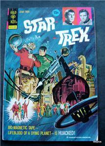 1973 Star Trek Comic Book Gold Key # 18 The Hijacked Planet