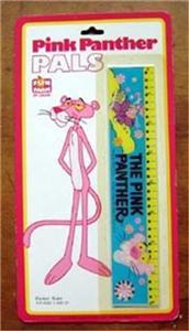 Pink Panther Pals Flicker Action Flasher Ruler MOC
