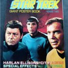 1976 Star Trek Giant Poster Book Voyage Two 2 Spock