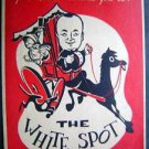 1954  The White Spot Menu ~ Mass. Nick Chase
