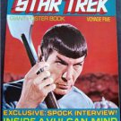 1977 Star Trek Giant Poster Book Voyage Five 5 Spock Cover