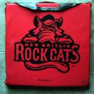 New Britain Rock Cats Minor League Baseball Defunct Team Red Seat Cushion 2011
