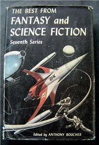 The Best from Fantasy and Science Fiction Book Seventh Series HC DJ 1958