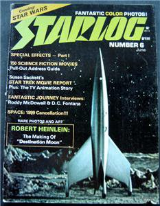 June 1977 Starlog Magazine  Vol 2  #6  Star Wars Preview