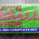 1987 Topps Baseball Card Factory Set Sealed Bonds Maddux RC 792 Cards