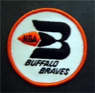 """Buffalo Braves NBA Basketball Logo Patch 3"""""""