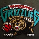 Vancouver Grizzlies Basketball NBA Cloth Patch 3""