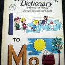 "The Charlie Brown Dictionary Book Vol 4  "" I to Mo""  by Charles M. Schulz  1973"