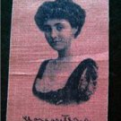 Vintage 1910 Old Mill Cigarettes Tobacco Silk S72 Actress Margaret Wale