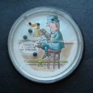 Man Holding a Tankard  Dexterity Jiggle Puzzle Made in USA 3 3/4""