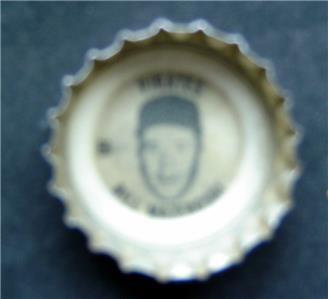 1960's Coke Bottle Cap Baseball MLB Bill Mazeroski Pittsburgh Pirates