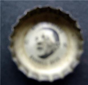 1960's Coke Bottle Cap Football NFL All Stars Darrell Dess Washington Redskins