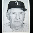 "CASEY STENGEL Manager New York Yankees 5"" x 7"" Black & White Photo"