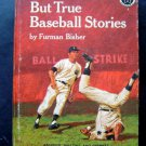 Vintage 1966 Strange But True Baseball Stories Book Little League Library Series