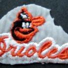 "Baltimore Orioles Baseball Cloth  Patch 2 3/4""  x 1 3/4"""