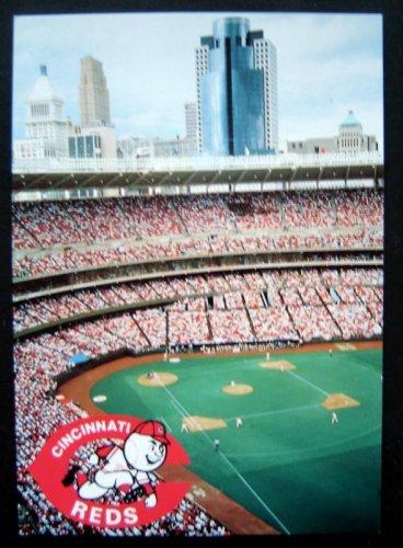 Cincinnati Reds Baseball POST CARD Cinergy Field Lucky Prints Unused