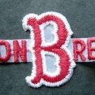 "Boston Red Sox Baseball Die Cut Name ""B"" Patch 6 1/4"""