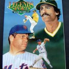 Legends Sports Memorabilia Magazine 1992 Seaver & Fingers Cover Cards Postcards