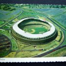 DC Stadium Post Card 1976 Washington DC Senators Redskins Scalloped Aerial View