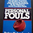 Personal Fouls by Peter Golenbock NBA Basketball Book 1990 Valvano NC State