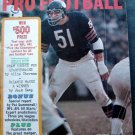 1966 Pro Football Sports All Stars Magazine Dick Butkus Chicago Bears Cover