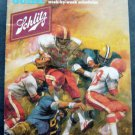 1982 Pro Football Guide Booklet Schlitz Advertising with Schedules