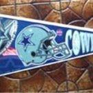 "Dallas Cowboys NFL Football Pennant Edition # 4 Full Size 30"""