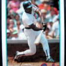 1989 Topps Baseball Talk Card Andre Dawson Chicago Cubs # 78