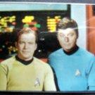 Original Star Trek Convention Ticket Badge & Holder Capt Kirk & Dr McCoy Picture