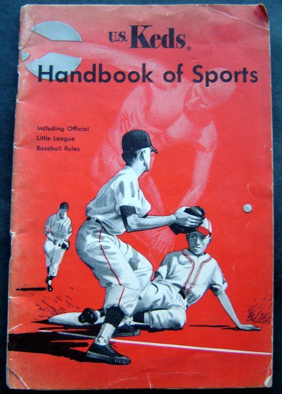U. S. Keds Sneakers Rubber Company Handbook of Sports 1952? Coach Frank Leahy