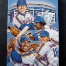 1992 New York Mets Media Information Guide Murray Bonilla Saberhagen Cover