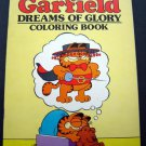 Garfield Dreams of Glory Coloring Book 1983 Happy House 48 Pages Unused