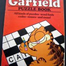 Garfield Puzzle Book 1982 Happy House 48 Pages Partially Unused