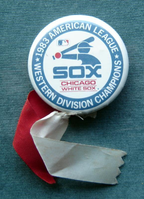 Chicago White Sox Baseball PIN 1983 American League Western Division Champions