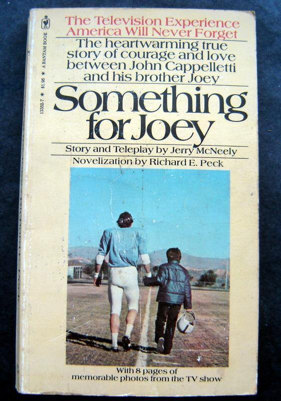 Something for Joey Football John Cappelletti His Brothers Story Book 1978