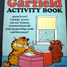 Garfield Activity Book 1982 Happy House 48 Pages Mostly Unused
