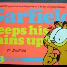 Garfield Keeps His Chins Up Book by Jim Davis 23rd Book 1992 Ballantine