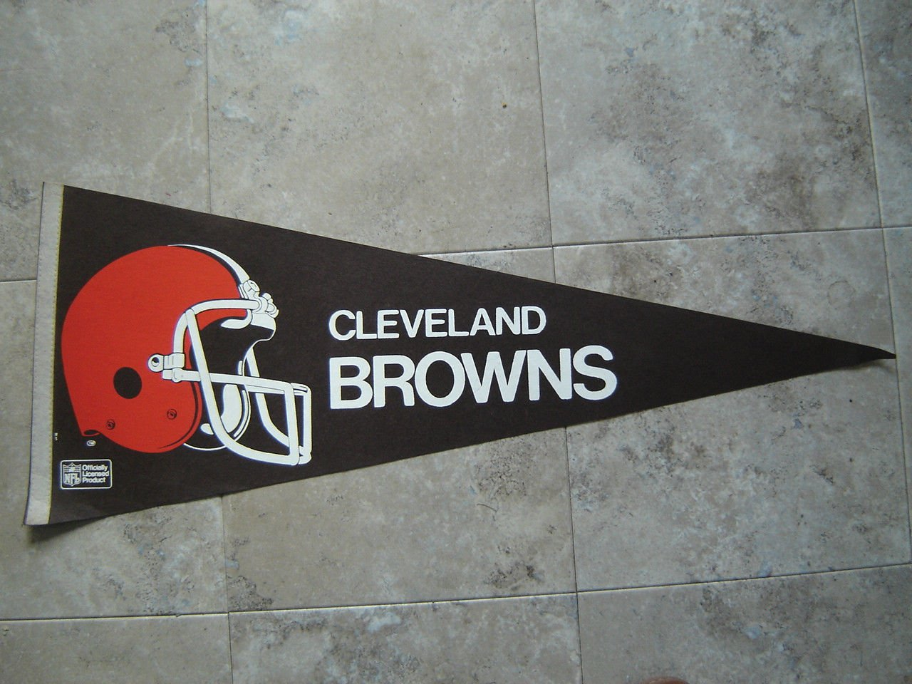 """Cleveland Browns NFL Football Pennant Full Size 30"""" Long"""