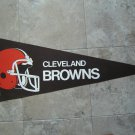 "Cleveland Browns NFL Football Pennant Full Size 30"" Long"