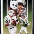 Joe Namath NFL Football Color Post Card #3 1st Series 1990 Paluso