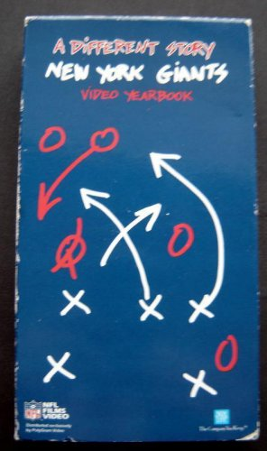 1992 NY Giants NFL Football Video Yearbook A Different Story VHS