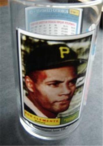 1993 McDonalds Glass Roberto Clemente - Pittsburgh Pirates (#7 of 9)