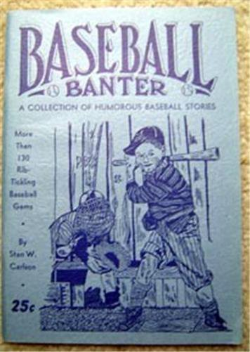 Baseball Banter Booklet 1944 Humorous Stories with Lou Gehrig Book Ad