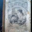 The Progressive Second Reader Book 1800's Boston Oliver Ellsworth Original