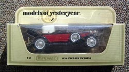 Matchbox Models Yesteryear 1930 Packard Victoria Car Y-15