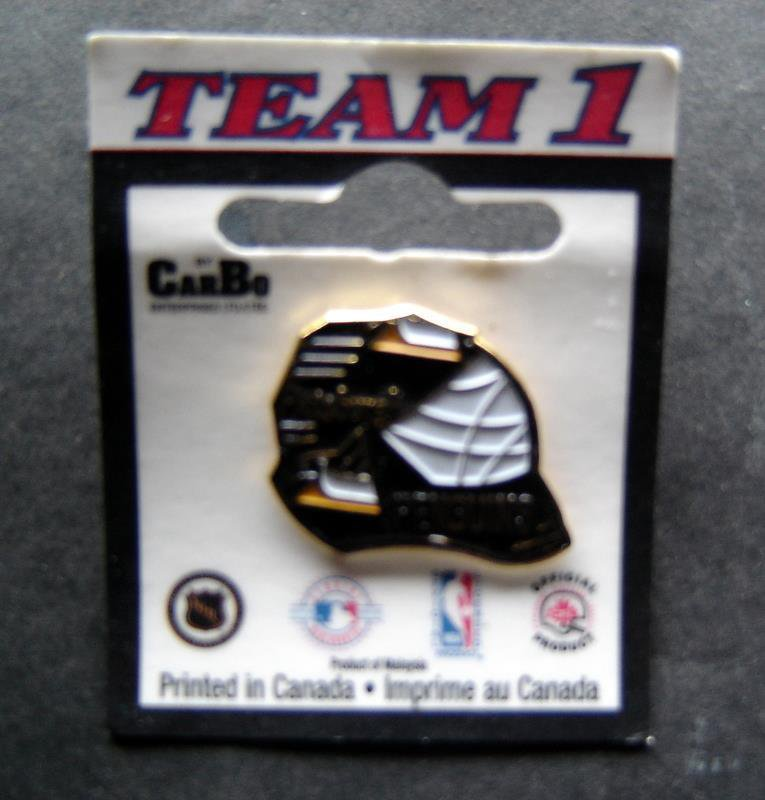"Pittsburgh Penguins NHL Hockeyl Metal Lapel Pin 1 1/4"" Tack Back"