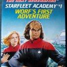 Star Trek Next Generation Star Fleet Academy #1 Worf's First Adventure Book 1993
