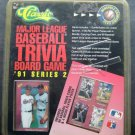 Classic Major League Baseball Trivia Board Game 1991 Series 2 with 99 Cards