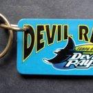 """Tampa Bay Devil Rays Plastic Key Chain Tag Express MLB 1995 2 1/4"""""""